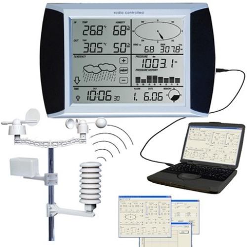 Беспроводная автономная метеостанция AW002 с подключениeм базы к ПК