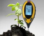 Анализатор почвы PH-300 - РН-метр, влагомер, измеритель температуры, люксметр для почвы по низкой цене в Киеве