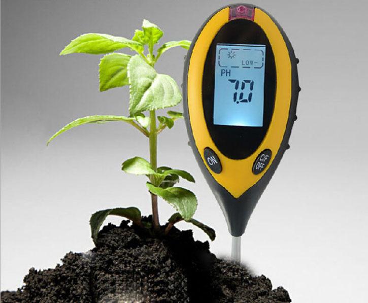 Прибор для измерения pH почвы