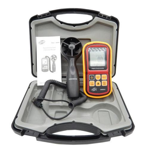 Анемометр с выносным датчиком GM8901 от 0 до 45 м/с