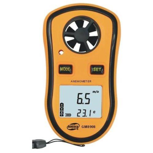 Анемометр GM8908, измеритель скорости ветра