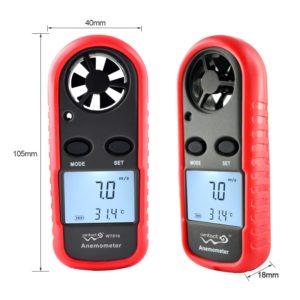 Анемометр WT816 (измерение скорости и температуры воздушных потоков)