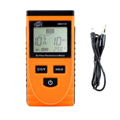 Измеритель сопротивления поверхности Benetech GM3110