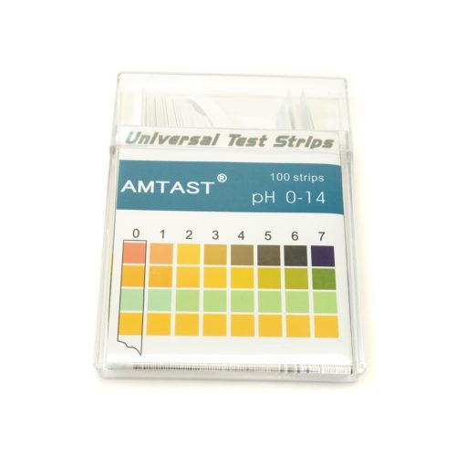 Лакмусовые полоски Amtest (США) от 0 до 14 рН