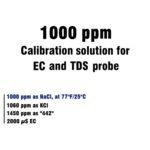 Калибровочный раствор для EC метра, TDS-метра, кондуктометра 1000 ppm по NaCl