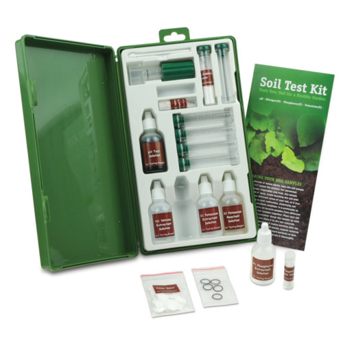 Набор для профессионального анализа почвы на азот, фоcфор, калий, рН, Rapitest 1663