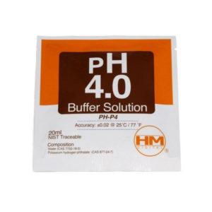PH-P4 4,00 рН калибровочный буферный раствор HM Digital