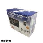 Профессиональная метеостанция (погодная станция) WH-2900 с солнечными батареями, калибровкой, Wi-Fi