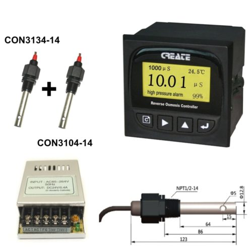 Контроллер систем обратного осмоса CCT-8320 CREATE с двухканальным кондуктометром