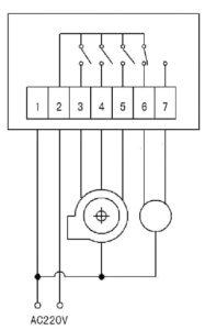 Схема контроллера углекислого газа (CO2) GM88021