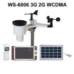 Метеостанция WS-6006 профессиональная, автономная, 3G WCDMA GPRS